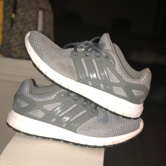 141e6c18abdf1f adidas Shoes - Adidas Running Shoes- Gray  used  Size 8 1 2